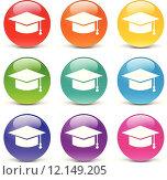 Купить «school icons», иллюстрация № 12149205 (c) PantherMedia / Фотобанк Лори