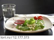 Купить «Kale Spinach Salad», фото № 12177373, снято 20 января 2020 г. (c) PantherMedia / Фотобанк Лори