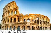 Купить «The Colosseum, Rome», фото № 12178321, снято 24 февраля 2018 г. (c) PantherMedia / Фотобанк Лори