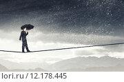 Купить «Pessimist in business», фото № 12178445, снято 25 марта 2014 г. (c) Sergey Nivens / Фотобанк Лори