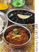 Купить «indian chicken pot rice curry», фото № 12181389, снято 23 июля 2019 г. (c) PantherMedia / Фотобанк Лори