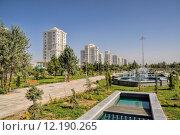 Купить «Glamorous capital city Ashgabat in Turkmenistan», фото № 12190265, снято 23 апреля 2018 г. (c) PantherMedia / Фотобанк Лори