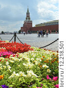Купить «Фестиваль живых цветов на Красной площади, Москва, 2015», эксклюзивное фото № 12218501, снято 10 июля 2015 г. (c) lana1501 / Фотобанк Лори