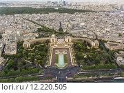 Купить «Paris, view of the Eiffel Tower from the Trocadero», фото № 12220505, снято 19 июня 2019 г. (c) PantherMedia / Фотобанк Лори