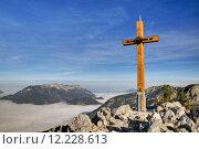Купить «mountains fog alpenpanorama berchtesgaden bergnebel», фото № 12228613, снято 10 декабря 2018 г. (c) PantherMedia / Фотобанк Лори