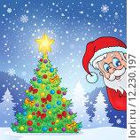 Купить «Christmas tree theme 7», иллюстрация № 12230197 (c) PantherMedia / Фотобанк Лори