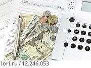 Купить «Tax Return», фото № 12246053, снято 17 октября 2018 г. (c) PantherMedia / Фотобанк Лори