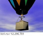 Купить «fly flying balloon passenger aviation», фото № 12296701, снято 24 февраля 2020 г. (c) PantherMedia / Фотобанк Лори