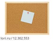 Купить «note date memo slip pushpin», фото № 12302553, снято 22 июля 2019 г. (c) PantherMedia / Фотобанк Лори