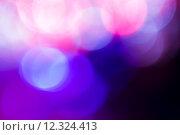 Купить «Photo of bokeh lights on black background», фото № 12324413, снято 20 февраля 2019 г. (c) PantherMedia / Фотобанк Лори