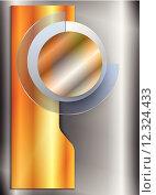 Купить «gold circle shadow banner metallic», иллюстрация № 12324433 (c) PantherMedia / Фотобанк Лори