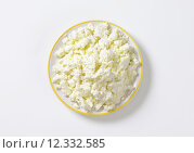 Купить «Crumbly white cheese», фото № 12332585, снято 14 сентября 2018 г. (c) PantherMedia / Фотобанк Лори