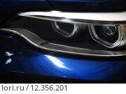 Купить «Car LED headlight», фото № 12356201, снято 27 июня 2019 г. (c) PantherMedia / Фотобанк Лори