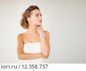 Купить «woman with pearl earrings and bracelet», фото № 12358737, снято 17 марта 2013 г. (c) Syda Productions / Фотобанк Лори