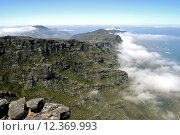 Купить «View from top of Table Mountain in Cape Town, South Africa», фото № 12369993, снято 19 октября 2018 г. (c) PantherMedia / Фотобанк Лори