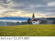 Купить «church blow bavaria idyll slap», фото № 12371881, снято 26 мая 2019 г. (c) PantherMedia / Фотобанк Лори