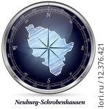 Купить «Map of Neuburg-Schrobenhausen», фото № 12376421, снято 20 мая 2019 г. (c) PantherMedia / Фотобанк Лори