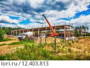 Купить «Building under construction with hdr effect», фото № 12403813, снято 20 февраля 2019 г. (c) PantherMedia / Фотобанк Лори