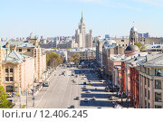 Купить «Lubyanka and Novaya Square in Moscow in spring», фото № 12406245, снято 16 августа 2018 г. (c) PantherMedia / Фотобанк Лори