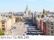 Купить «Lubyanka and Novaya Square in Moscow in spring», фото № 12406245, снято 24 сентября 2018 г. (c) PantherMedia / Фотобанк Лори