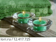 Купить «towel turquoise candle bamboo beauty», фото № 12417725, снято 15 сентября 2019 г. (c) PantherMedia / Фотобанк Лори