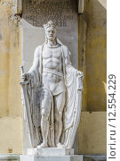 Купить «Statue of Ludovicus Magnus in the City of Szekesfehervar, Hungary», фото № 12554229, снято 27 марта 2019 г. (c) PantherMedia / Фотобанк Лори