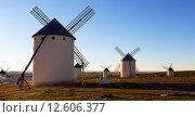 Купить «windmills», фото № 12606377, снято 8 декабря 2014 г. (c) Яков Филимонов / Фотобанк Лори