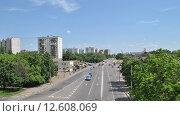 Купить «Фрязевская улица в Москве», эксклюзивное фото № 12608069, снято 4 июня 2014 г. (c) lana1501 / Фотобанк Лори