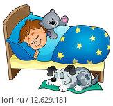 Купить «Sleeping child theme image 5», иллюстрация № 12629181 (c) PantherMedia / Фотобанк Лори
