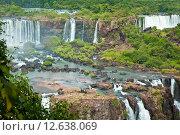 Водопад в джунглях. Стоковое фото, фотограф Anya Stogova / Фотобанк Лори