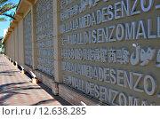 Стена с надписями около магазина в Египте (2013 год). Редакционное фото, фотограф Эллина Туровская / Фотобанк Лори