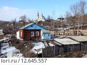 Купить «Вид города Михайлова. Рязанская область», фото № 12645557, снято 7 марта 2015 г. (c) УНА / Фотобанк Лори