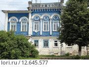 Дом Вереиных. Касимов. Рязанская область (2015 год). Стоковое фото, фотограф УНА / Фотобанк Лори
