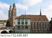 Купить «Цюрих. Швейцария», фото № 12645881, снято 11 августа 2015 г. (c) Кирпинев Валерий / Фотобанк Лори