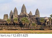 Купить «Храмовый комплекс Ангкор-Ват, Камбоджа», фото № 12651625, снято 25 мая 2019 г. (c) Сергей Петерман / Фотобанк Лори