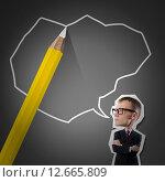 Купить «Sketching ideas», иллюстрация № 12665809 (c) Sergey Nivens / Фотобанк Лори