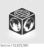 Площадь мира. Стоковая иллюстрация, иллюстратор Евгений Бакал / Фотобанк Лори