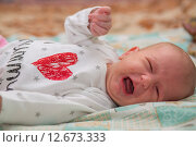 Купить «Гормональная сыпь у новорожденного», фото № 12673333, снято 14 января 2015 г. (c) Анастасия Улитко / Фотобанк Лори