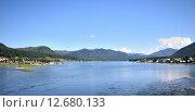 Купить «Вид на озеро Телецкое, Алтай», фото № 12680133, снято 4 августа 2014 г. (c) Александр Карпенко / Фотобанк Лори