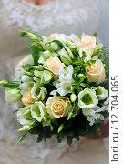 Купить «Свадебный букет», фото № 12704065, снято 2 августа 2008 г. (c) Морозова Татьяна / Фотобанк Лори