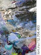 Купить «Космос на палитре», фото № 12704493, снято 12 ноября 2014 г. (c) Elizaveta Kharicheva / Фотобанк Лори