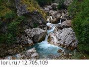 Водопад. Стоковое фото, фотограф Роман Вафин / Фотобанк Лори