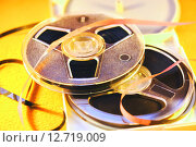 Купить «Магнитофонные катушки», фото № 12719009, снято 8 мая 2014 г. (c) Сергеев Валерий / Фотобанк Лори