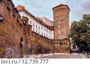 Купить «Вавельский замок. Краков, Польша.», фото № 12739777, снято 19 октября 2018 г. (c) Игорь Яковлев / Фотобанк Лори