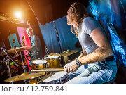 Купить «Drummer», фото № 12759841, снято 30 октября 2014 г. (c) Андрей Армягов / Фотобанк Лори