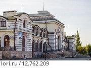 Железнодорожный вокзал города Чебоксары (2015 год). Редакционное фото, фотограф Юрий Прокопьев / Фотобанк Лори