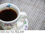 Купить «Coffee in the Cup», фото № 12762241, снято 16 сентября 2015 г. (c) Алёшина Оксана / Фотобанк Лори