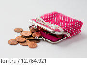 Купить «close up of euro coins and wallet on table», фото № 12764921, снято 30 июля 2015 г. (c) Syda Productions / Фотобанк Лори