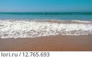 Купить «Медленное движение океанских волн», видеоролик № 12765693, снято 27 сентября 2015 г. (c) Discovod / Фотобанк Лори