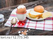Купить «Breakfast», фото № 12773345, снято 26 сентября 2015 г. (c) Алёшина Оксана / Фотобанк Лори